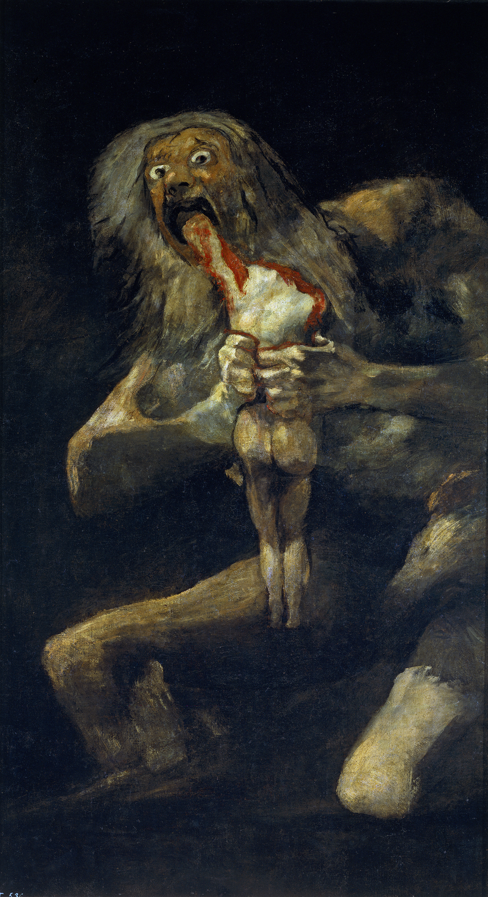Saturn Devouring His Son by Francisco Goya