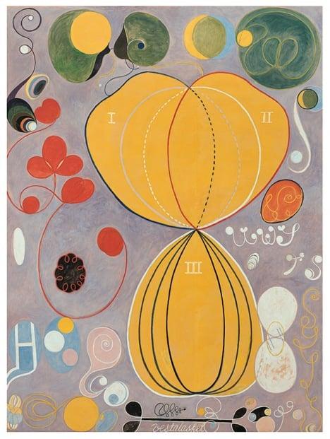 The Ten Biggest, No 7 by Hilma af Klint