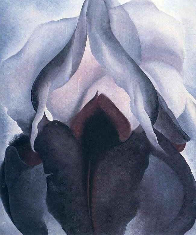 Black Iris by Georgia O'Keeffe
