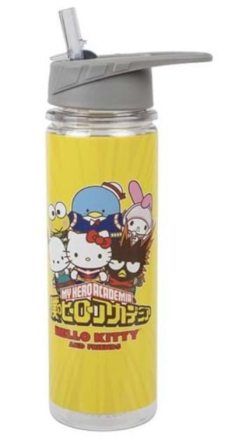 Hello Kitty & My Hero Academia water bottle