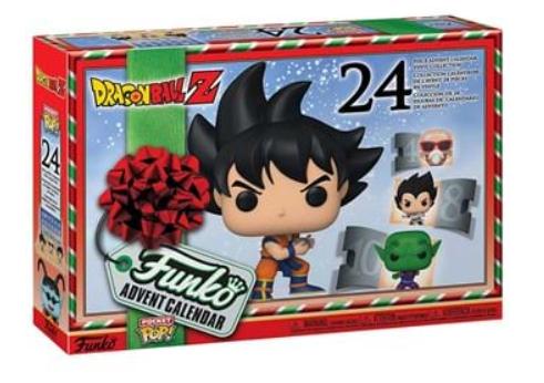 Funko Dragon Ball Z Christmas advent calendar