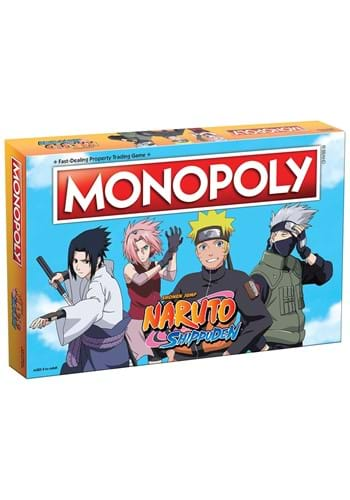 Monopoly Naruto board game