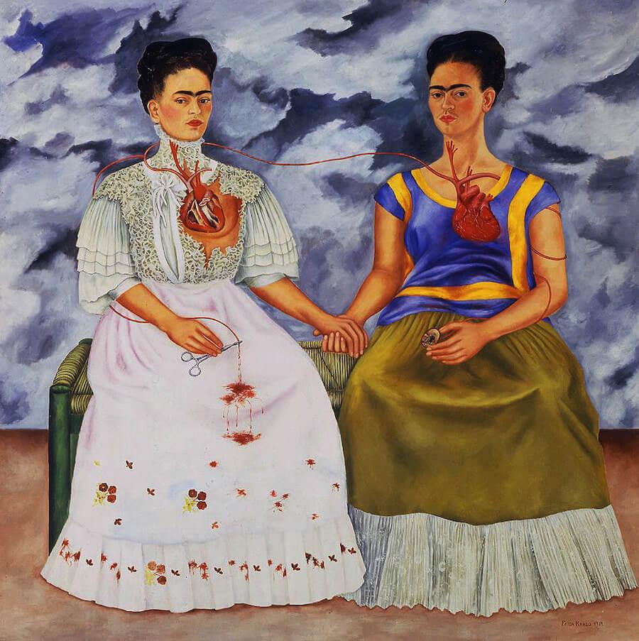 The Two Friedas by Frida Kahlo