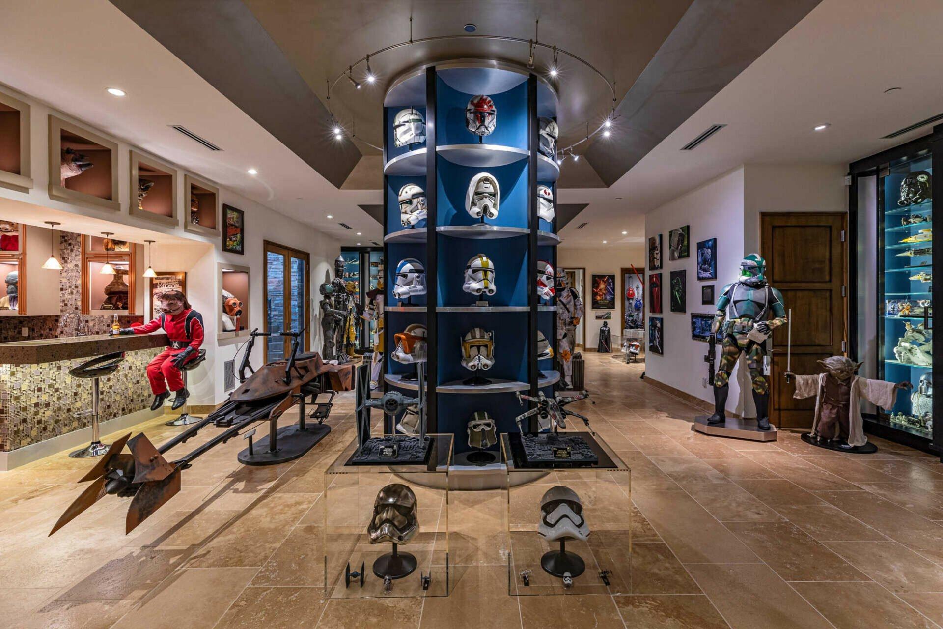Star Wars basement
