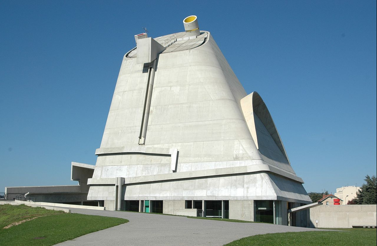 Church of Saint-Pierre by Le Corbusier