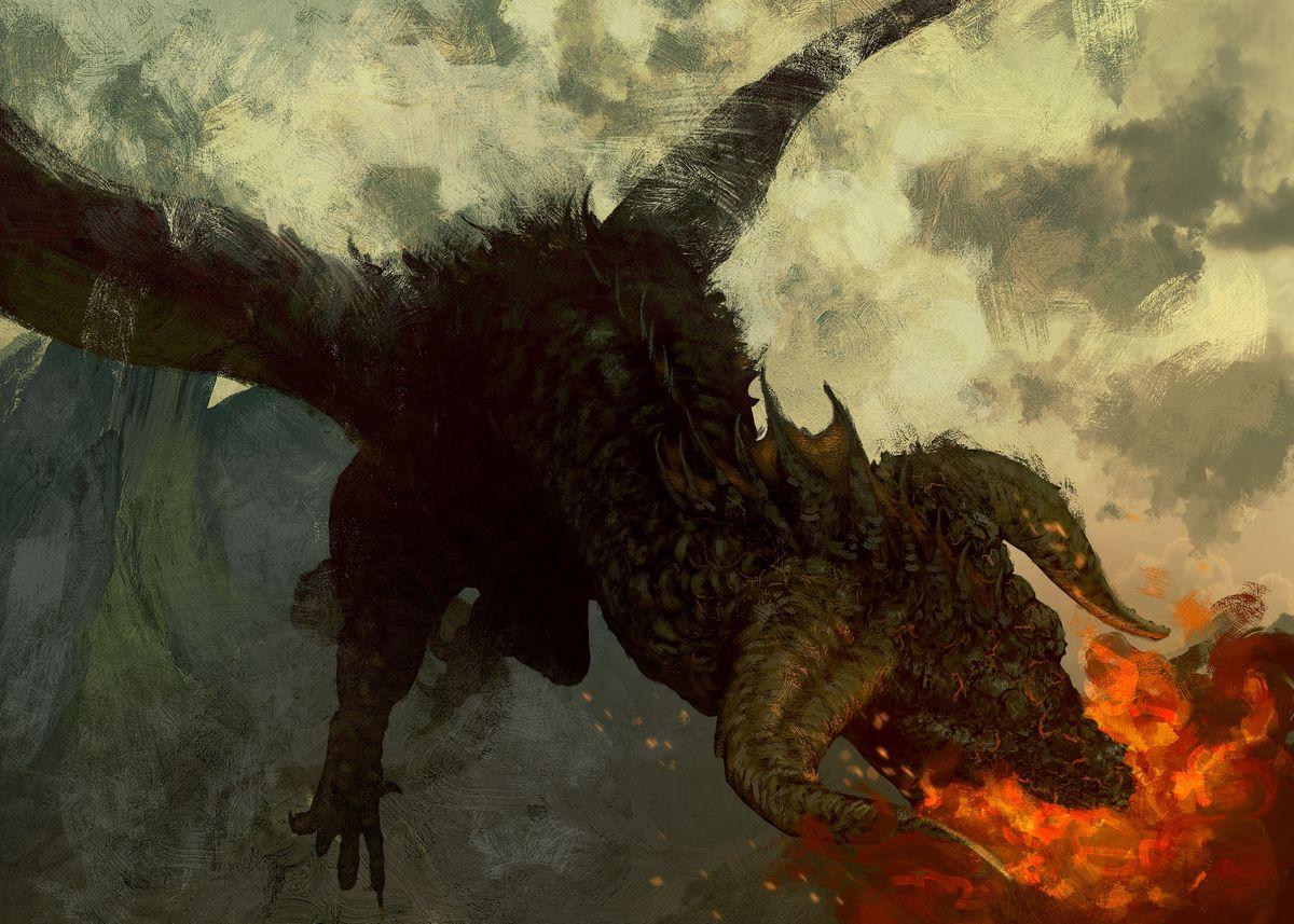Dragon Breath Poster