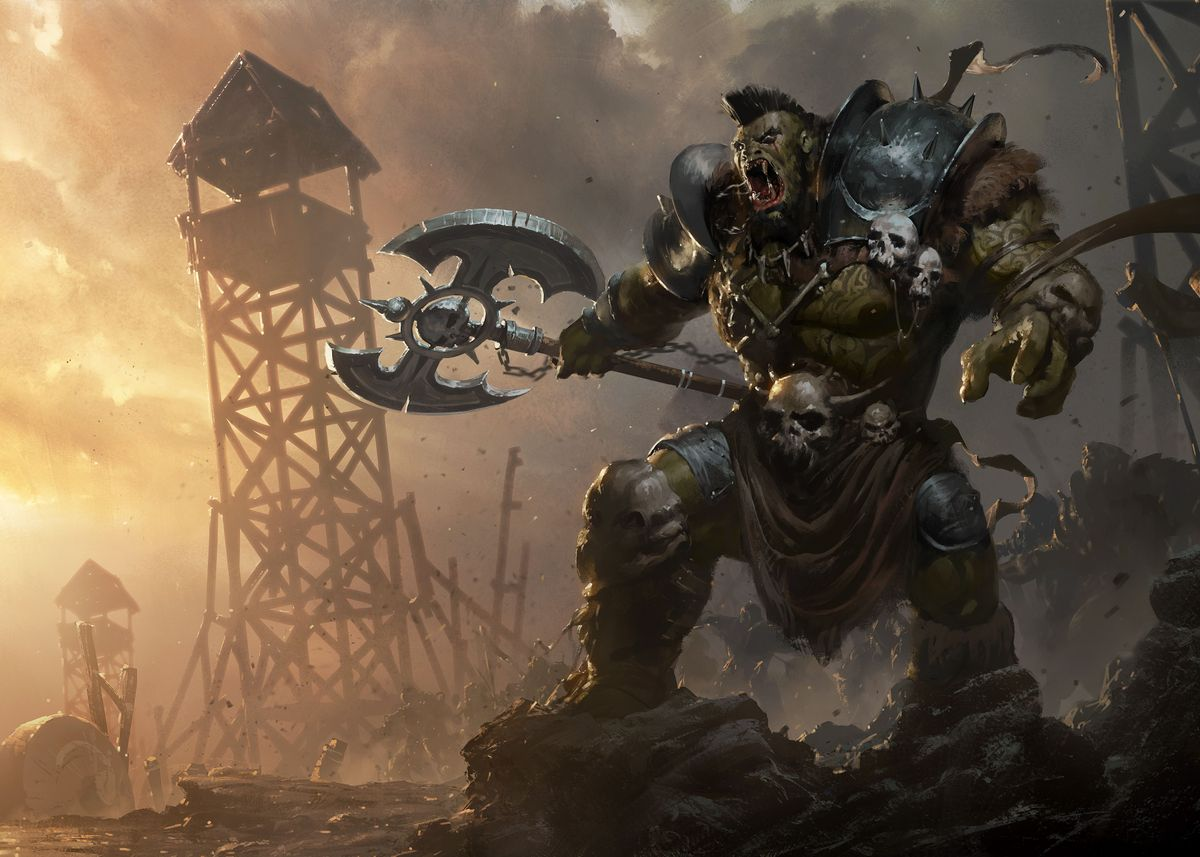 Orc Overlord Poster
