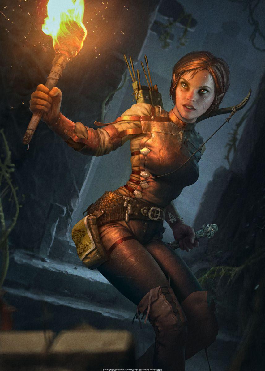 Archer Elf Poster