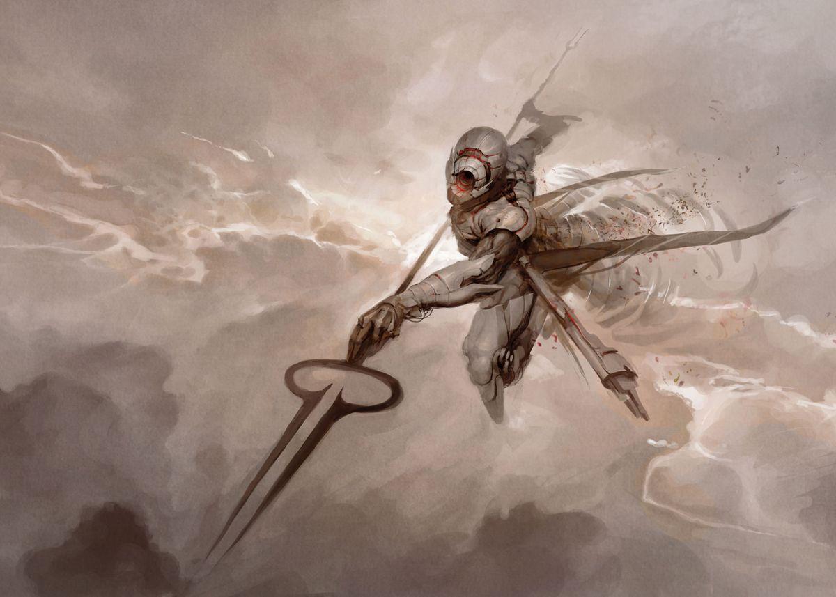 Kushiel The Rigid Angel Poster