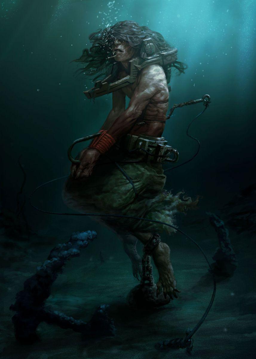 Rahab – Angel Of The Deep Poster