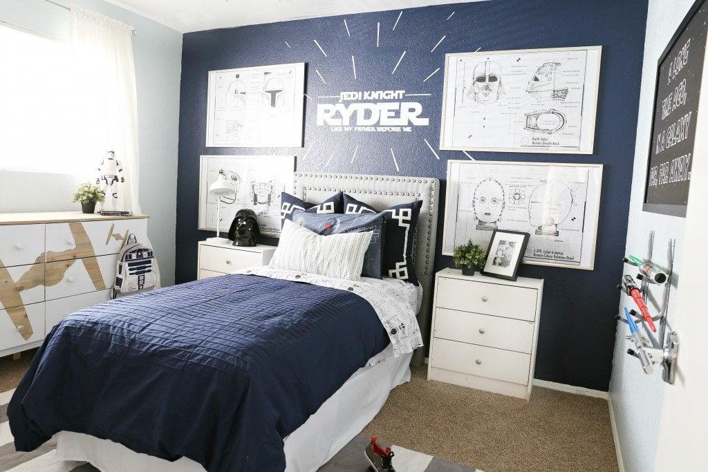 Star Wars boy's bedroom