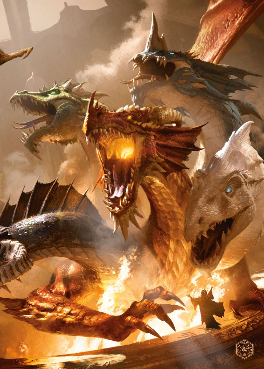 The Rise Of Tiamat Poster