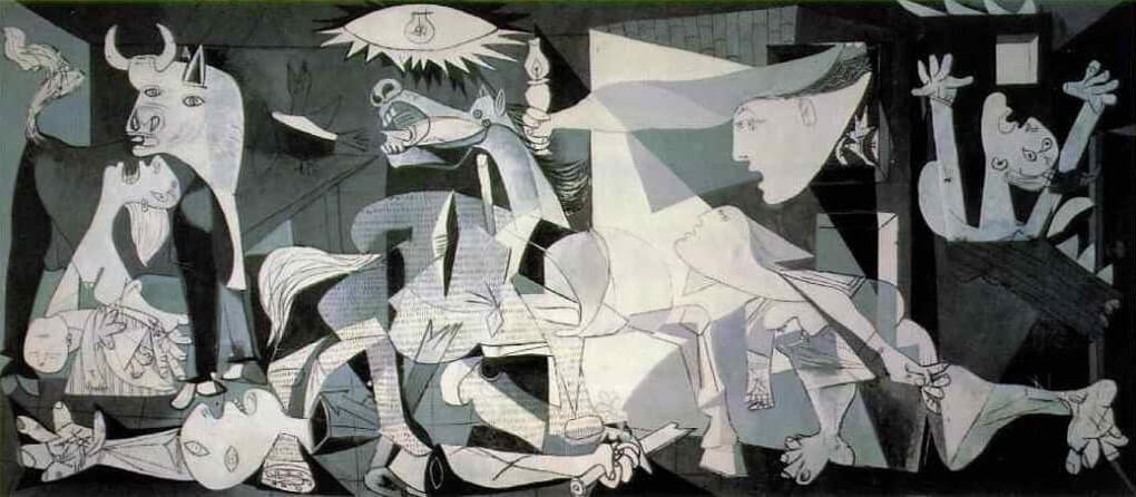 La Guernica painting by Pablo Picasso