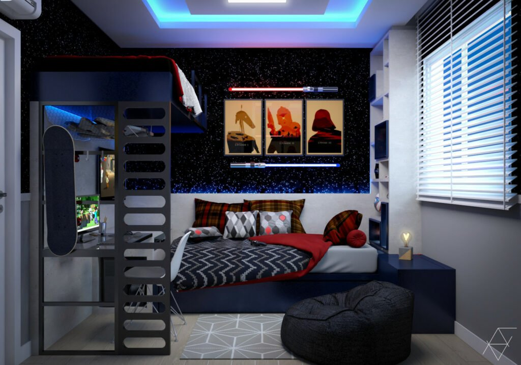 Small Star Wars bedroom