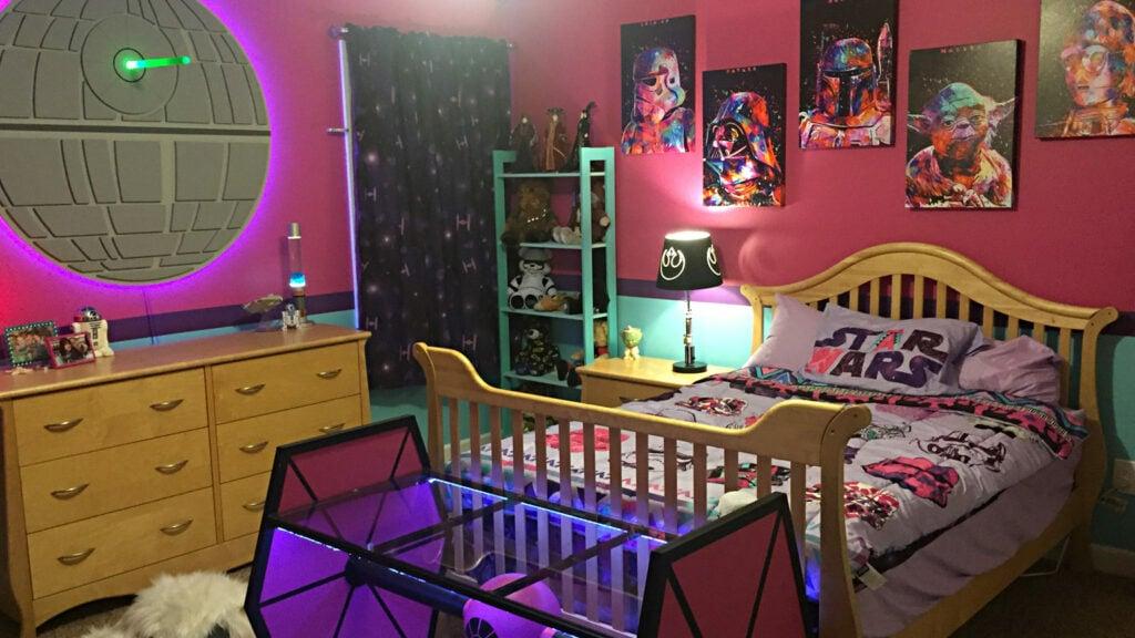 Star Wars girl's bedroom
