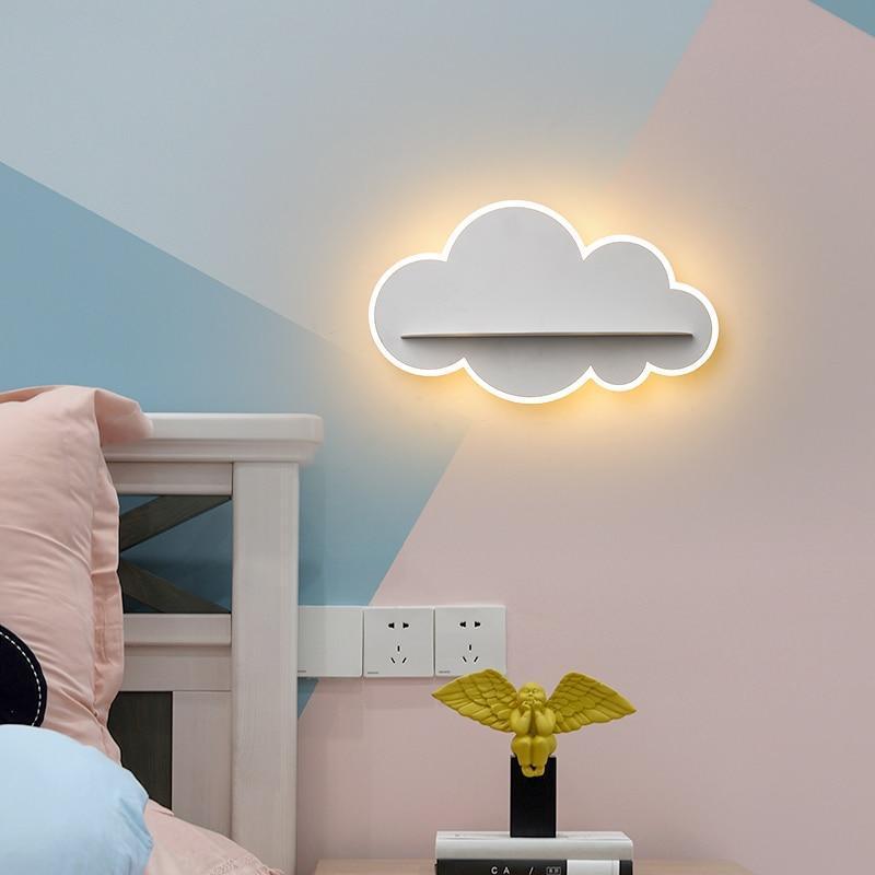 Cloud LED wall light