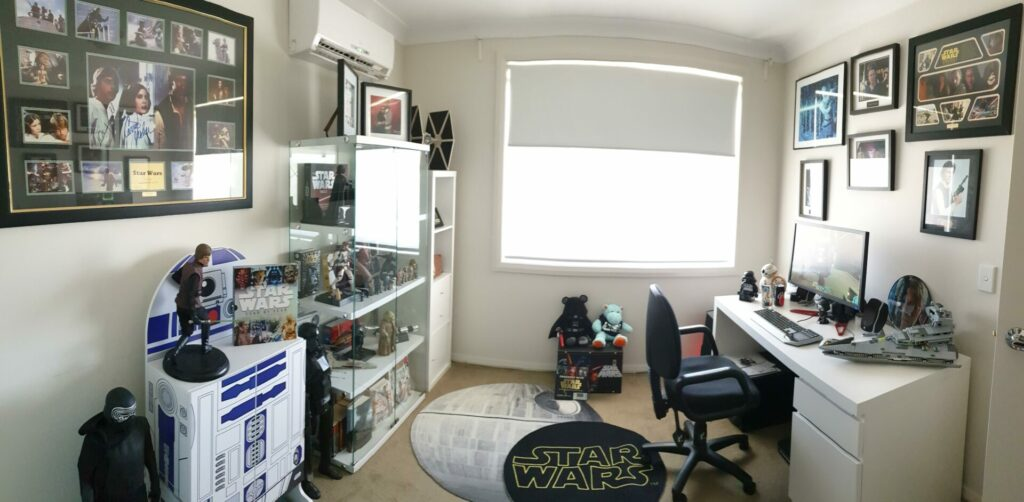 Star Wars home office
