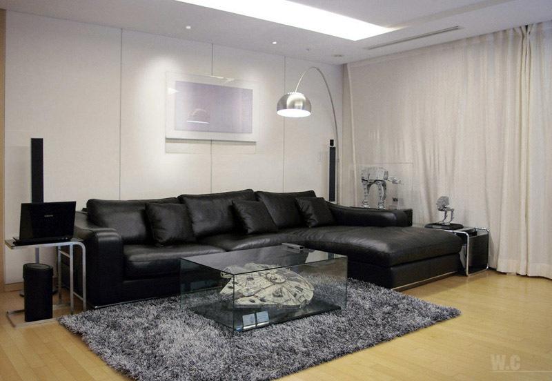 Star Wars-themed living room