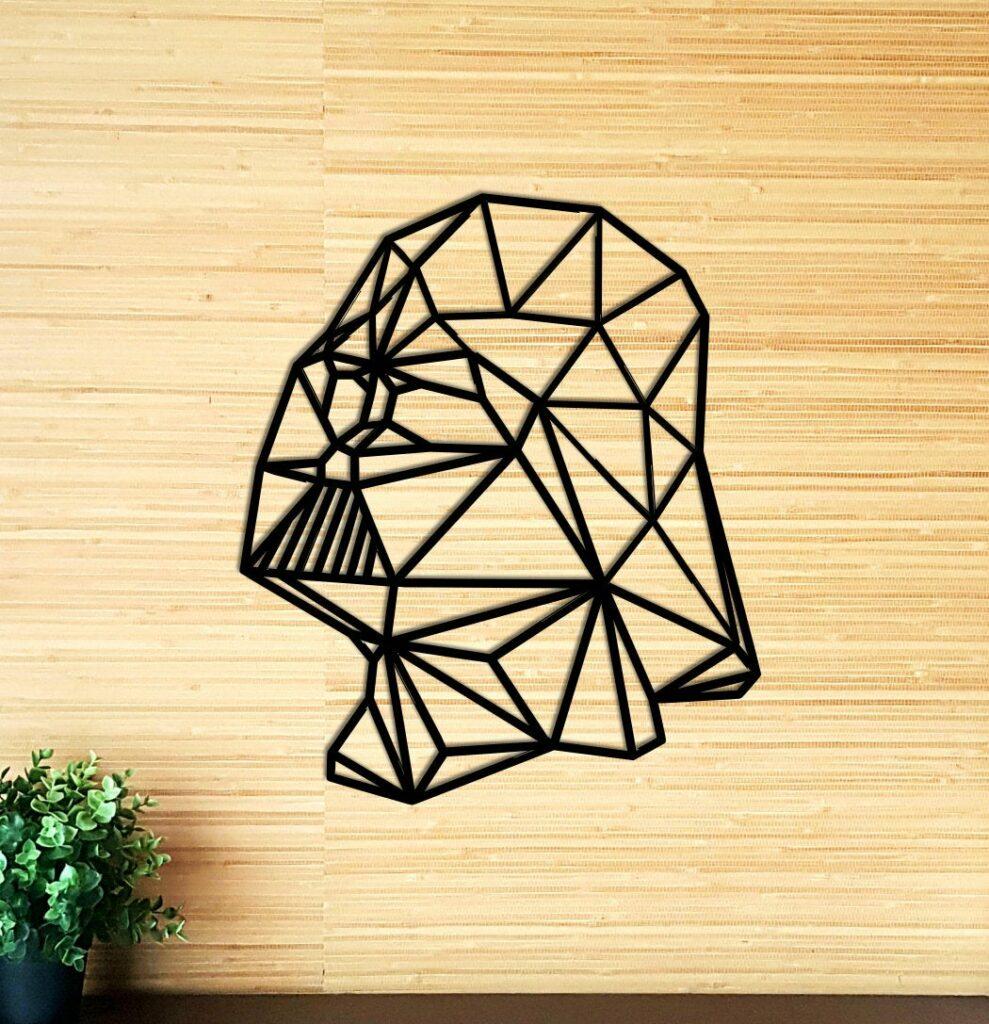Darth Vader wall decor