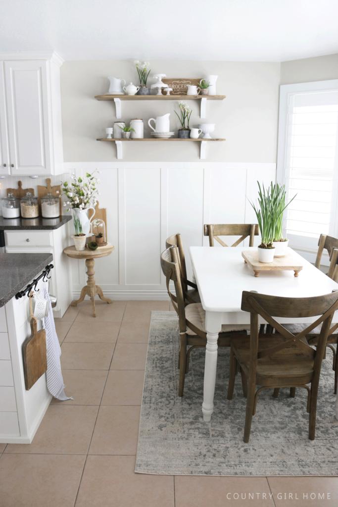 pitcher kitchen shelf