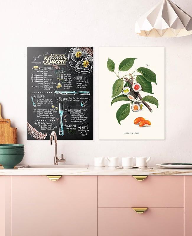 Displate sushi poster
