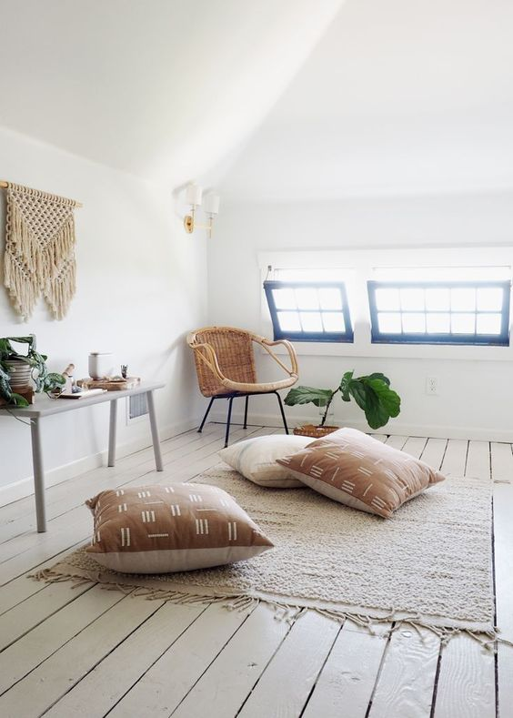 attic meditation space