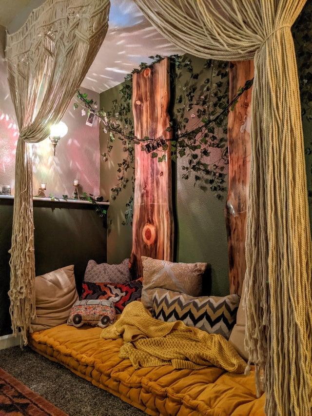 blissful meditation room